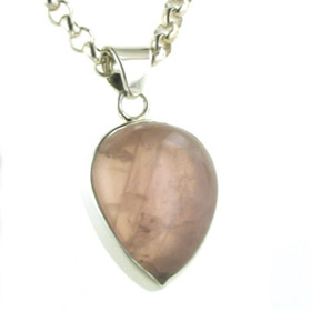 Rose Quartz Pendant - Booth and Booth