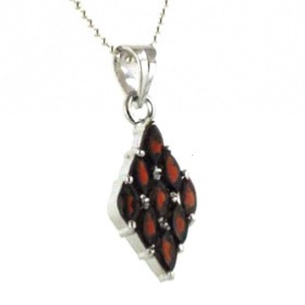 Garnet Pendant | Booth and Booth