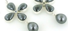 Haematite Earrings