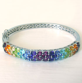 Semi-Precious Bangle Esme