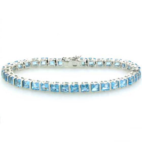 Swiss Blue Topaz Bracelet Esther