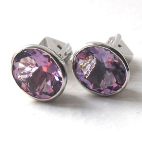 Semi-Precious Gemstone Cufflinks - Booth and Booth