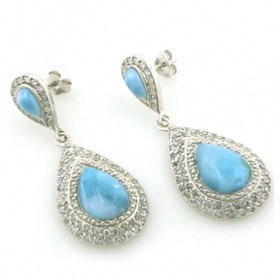 Larimar Earrings Lynette