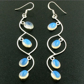 Long Opalite Earrings Layla