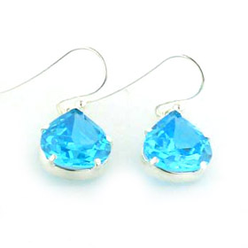 Blue Topaz Earrings Cynthia