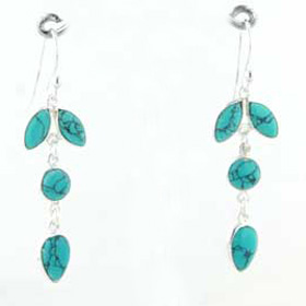 Turquoise Earrings Jess