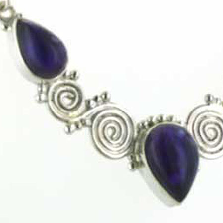 Amethyst Necklace Gina