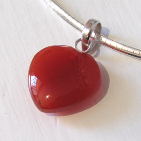 Red Onyx Pendant Estella