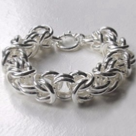 Silver Bracelets, Bangles and Cuffs - Boothandbooth.co.uk