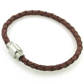 Tan Leather Bracelet Mahler