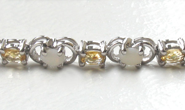 Citrine and Opal Bracelet Margi