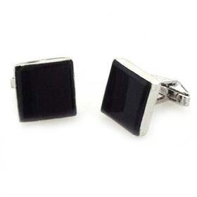 Black Onyx Cufflinks Coleridge