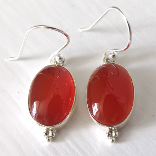 Carnelian Earrings - Booth and Booth