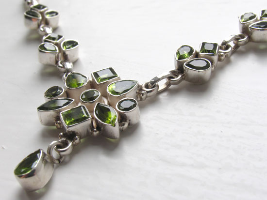 Peridot Necklace Beatrice