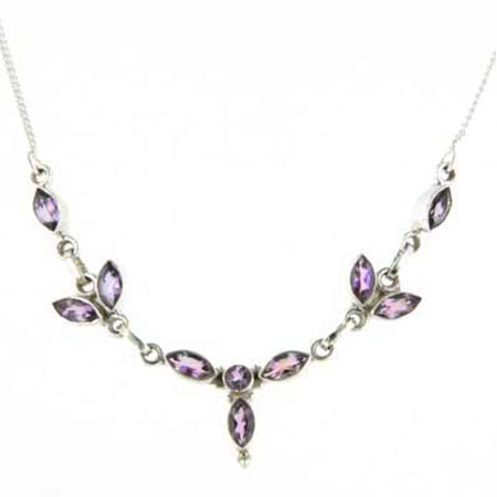 Amethyst Necklace Candide