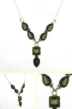Smokey Quartz Necklace Eloise
