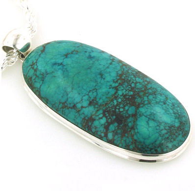 Large Turquoise Pendants - Gemstone Jewellery