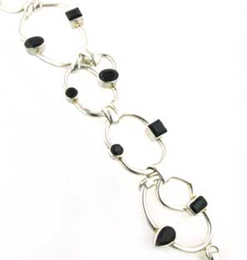 Black Onyx Bracelets - Booth and Booth