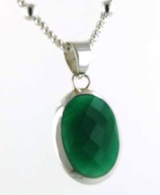 Green Onyx Pendant | Gemstone Jewellery