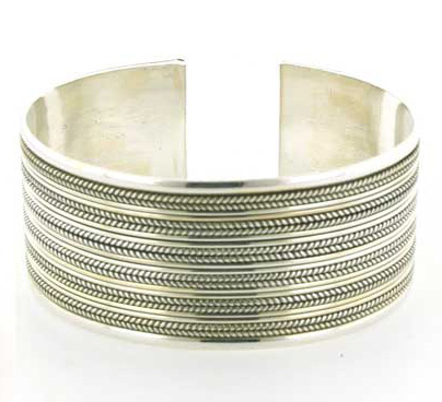 Sterling Silver Bangle or Silver Cuff - Boothandbooth.co.uk