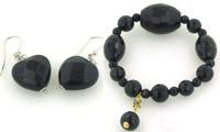 Black Onyx Jewellery - Booth and Booth