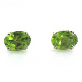 Peridot Stud Earrings Mayla