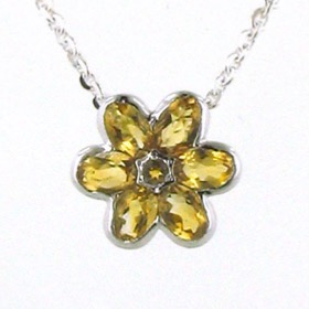 Citrine Pendant Virginia