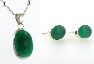 Green Onyx Jewellery - Booth and Booth