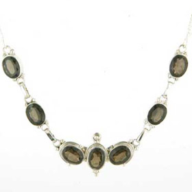 Smokey Quartz Necklace Odette