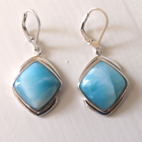Larimar Earrings Eileen