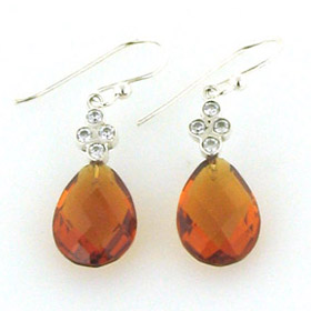 Citrine Earrings Charlotte