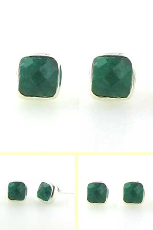 Emerald Stud Earrings Jayne