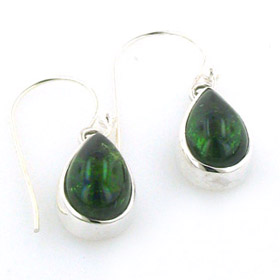 Green Tourmaline Earrings Agatha