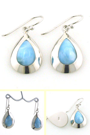 Larimar Earrings Rhiannon