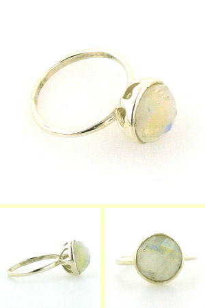 Rainbow Moonstone Ring Cassatt