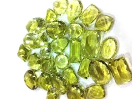 Faceted Lemon Quartz Gemstones