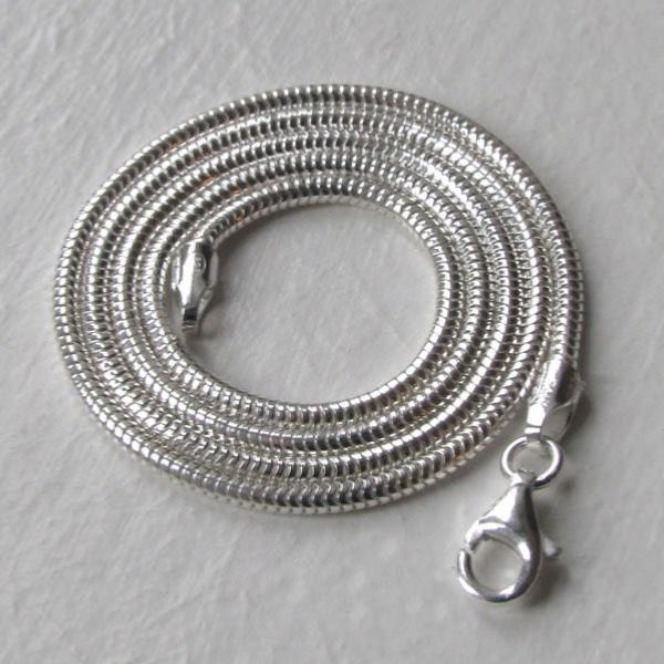 Sterling Silver Snake Chain - 2mm