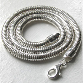 Sterling Silver Snake Chain - 5mm