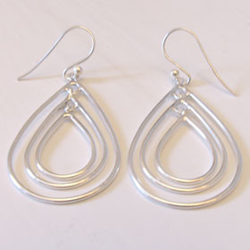 Sterling Silver Earrings Betsey
