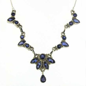 Iolite Necklace Deborah