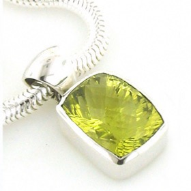 Lemon Quartz Pendant Hazel