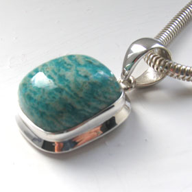 Amazonite Pendant Megan
