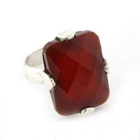 Red Onyx Ring Chagall