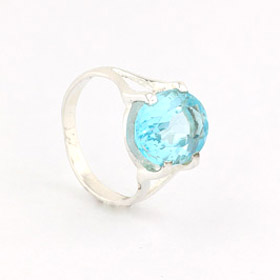 Blue Topaz Ring Degas
