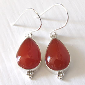 Carnelian Earrings Adelle