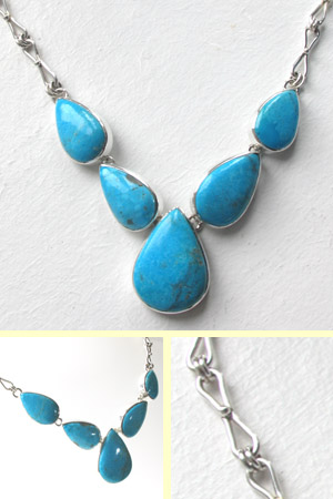 Turquoise Necklace Bella