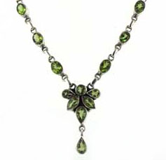 Peridot Necklace - Peridot Jewellery