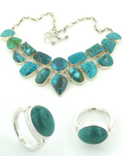 Turquoise Jewellery - Gemstone Jewellery Booth and Booth