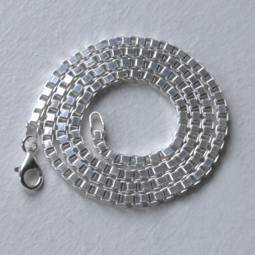 Sterling Silver Box Chain - 3.1mm