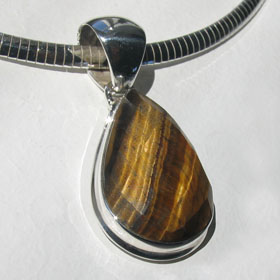 Tiger Eye Pendant Dawn